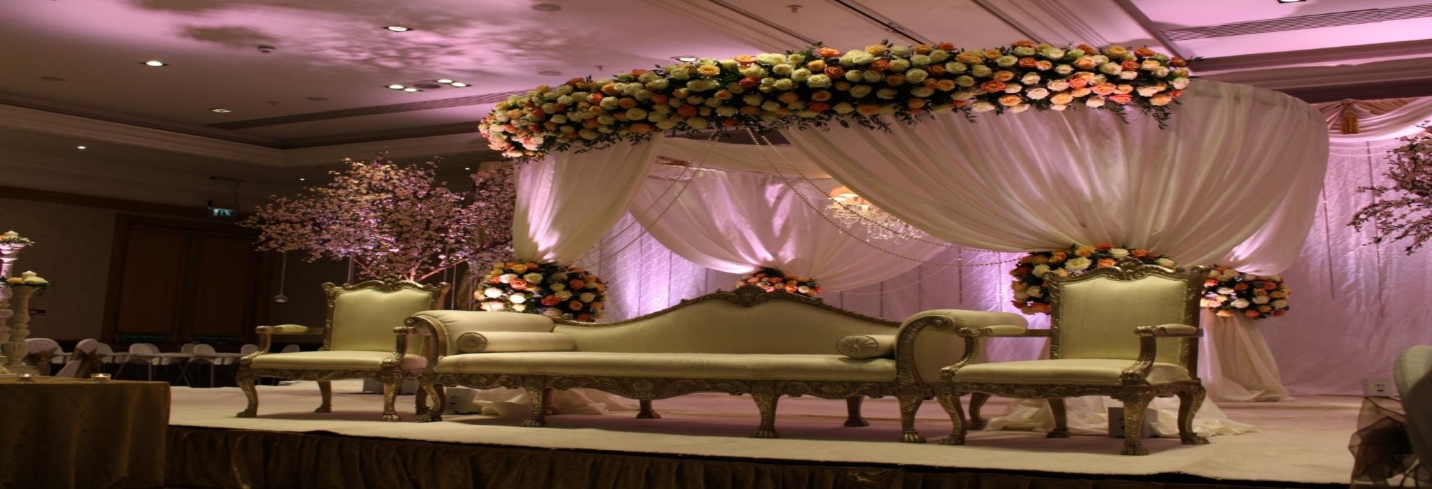 Saffron events uk for Asian wedding stage decoration manchester